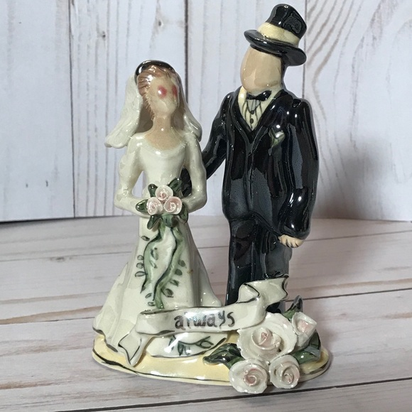 BLUE SKY Clayworks Heather Goldminc Bride & Groom